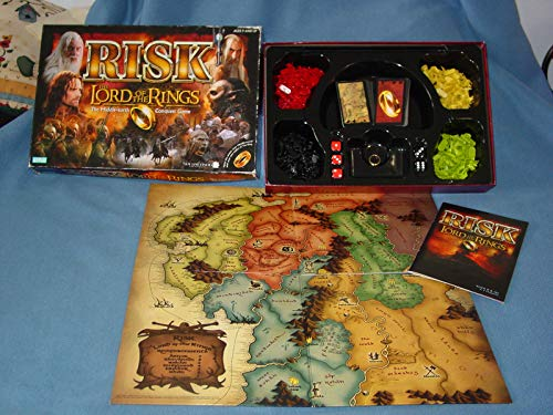 Risk Lord of the Rings The Middle-Earth Conquest Game