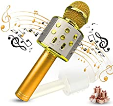 Creen Toys for 3-16 Years Old Girls Gifts Kids, Karaoke Microphone for Singing Kids Age 4-12 Yr Old, Best Fun Birthday Gifts for 5 6 7 8 9 10 11 12 Years Teens Girl Boys for Kids