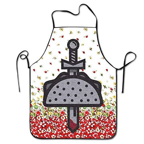 N/A beste cadeau Taco Knight morsen de hete saus van onze vijanden BBQ keuken koken schort