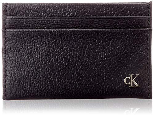 Calvin Klein heren Ckj Monogram Texture Cardcase portemonnee, zwart (black), 1x1x1 cm