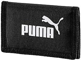 Puma Phase Wallet, Portafoglio Unisex Adulto, Nero, Taglia Unica