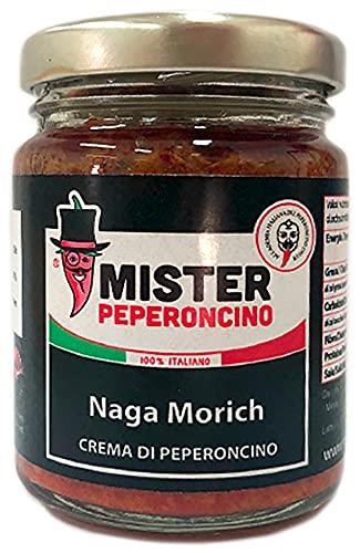 Naga Morich - Crema di peperoncino 90 gr - Mister Peperoncino