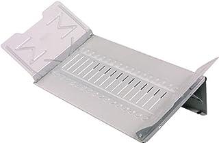 Master Catalog Rack, Organizes and Displays Catalogs/Magazines/Loose-Leaf Materials, Gray (MAT918G)