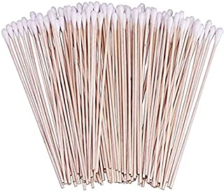 VNDEFUL 200PCS Home medical cotton swab and makeup cleaning Cotton Swabs Swab Applicator, Medical Sterile