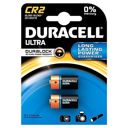 """DURACELL Foto-Batterie """"ULTRA"""", Lithium, CR2, 2er Blister"""