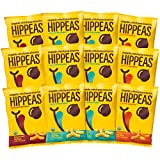 pack of 12 Hippeas Organic chickpea puffs savory snacks