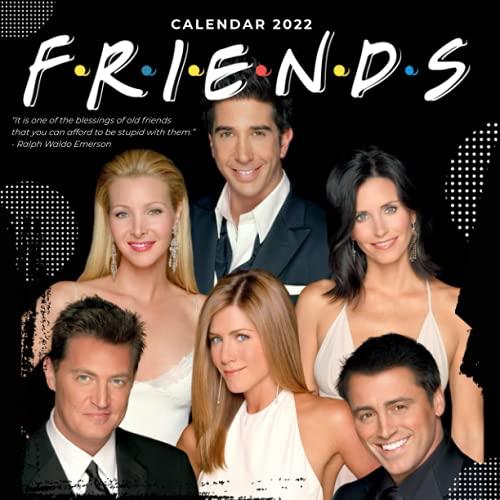 Friends 2022 Calendar: 18-month Calendar 2022 from Jul 2021 to Dec 2022 in mini size 8.5x8.5 inch