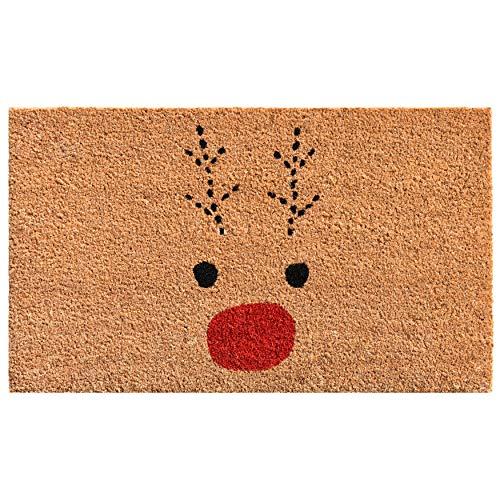 Calloway Mills 105011729 Rudolph Doormat, 17' x 29'...