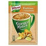 Knorr Goracy Kubek Kurkowa z Makaronem Instant Chanterelle Mushroom Soup with Pasta (5-Pack)