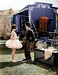 Photo of Charlie Chaplin and Merna Kennedy in The Circus
