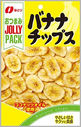 なとり『JOLLY PACK バナナチップス(80g)』