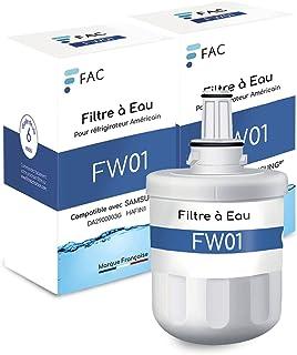 2 * Samsung DA29-00003G – Filtre à eau interne pour Réfrigérateur Américain - DA29-00003F, HAFIN1, HAFIN1/EXP,DA29-00003B,...