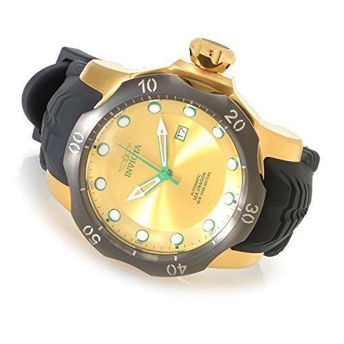 Invicta 19315Venom analógico automático Casual reloj negro silicona