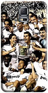 PC Cell Phone Carrying Skins Real Madrid Fc Excellent Trendy Samsung Galaxy S5