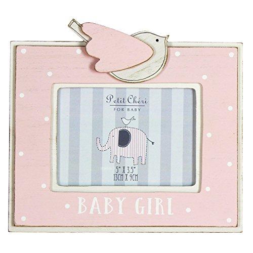 Petit Cheri Marco de fotos – Baby Girl – 12,7 x 8,9 cm – CG1311P