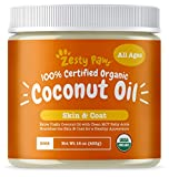 Zesty Paws Coconut Oil for Dogs - Certified Organic & Extra Virgin...