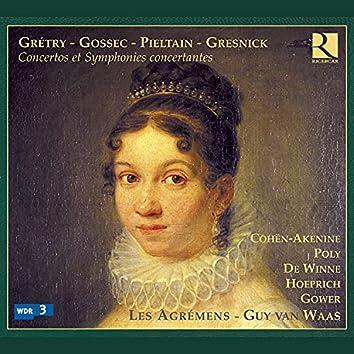 Grétry, Gossec, Pieltain & Gresnick: Concertos et symphonies concertantes