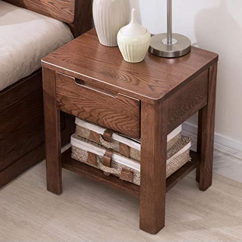 LYN eindtafel, bank bijzettafel, nachtkastje massief hout bijzettafel eiken nachtkastje met lade kleine hoek eindtafel salontafel voor slaapkamer meubels
