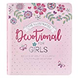 The Illustrated Devotional For Girls 366 Days of Creative Coloring & Faith Filled Devotions for Girls ages 8-12