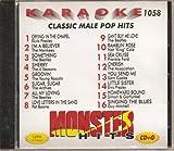 Monster #1058 Karaoke CDG MALE CLASSIC POP & OLDIES