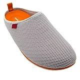 Zapatillas de Estar por casa para Hombre y Mujer de Verano - Dynamic-Spring- Slippers - para Unisex Adulto - Suela de Goma Vulcanizada Resistentes y Antideslizante. Gris EU 37