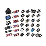 XIXI-Home Ajuste para Arduino Raspberry PI Sensor Módulo Starter Kit Set Reemplazo Set de reemplazo 45pcs Accessories Durable