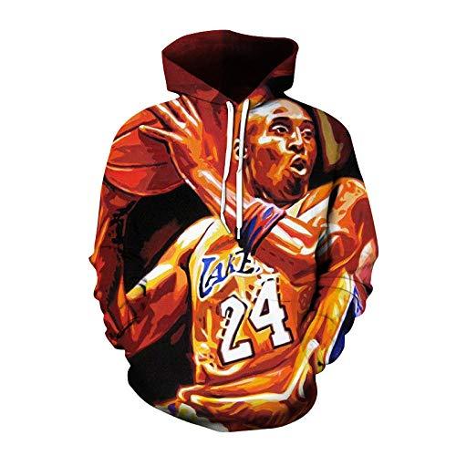 Männer und Frauen # 24 Kobe Bryant Hoodie Basketballjacke Langarm Sweatshirt-A_XXS