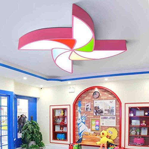 Luz techo-Niños Luces sala molino viento Luces dormitorio