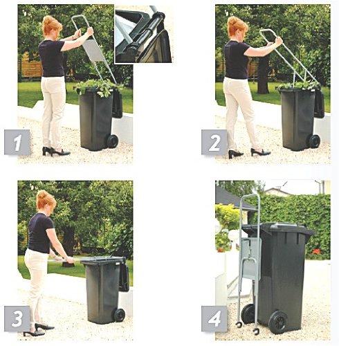 AKTION STAHLROHR - HAUS - MÜLLPRESSE - ROBUSTE STABIELO - MÜLLPRESSE für 120 Liter TONNEN - HOLLY PRODUKTE STABIELO - INNOVATIONEN MADE in GERMANY - holly-sunshade ® - NICHT ENTWICKELT ZUM PRESSEN von Starken PAPPEN oder ZEITUNGS - STAPELN - SONDERN