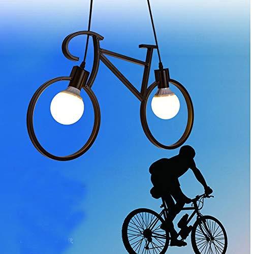 L.J.JZDY kroonluchter smeedijzeren fiets kroonluchter land persoonlijkheid eenvoudig restaurant internet cafe bar tafel fietslampen hanglamp