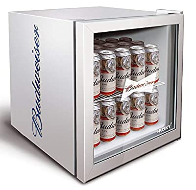 Husky HUS-HM72-HU Budweiser Drinks Cooler [Energy Class A+]