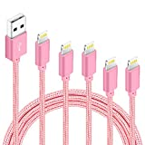 5Pack(3ft 3ft 6ft 6ft 10ft) iPhone Lightning Cable Apple Certified...