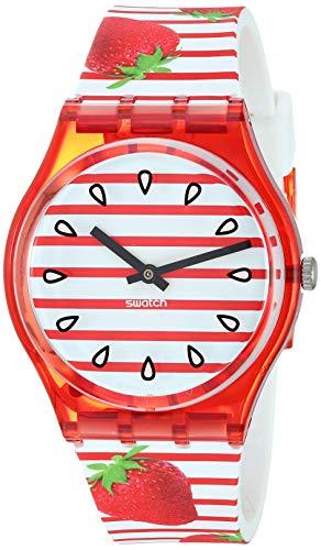 Swatch Orologio Analogico Quarzo Donna con Cinturino in Silicone GR177