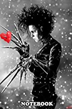 Notebook: Paper Hearts Edward Scissorhands , Journal for Writing, College Ruled Size 6