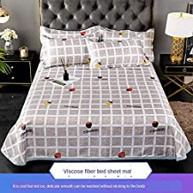 Summer Cool Sleeping Mat and Breathable Ice Silk Cold Sheets Pillowcase Mattress Can Be Washed and Folded,010,2m