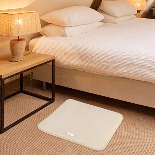 Wecker für schwere Schläfer - Druckempfindlicher Teppich - LED Digitaler Wecker Smart Carpet Digitaler Wecker Teppich mit Digitalem Wecker