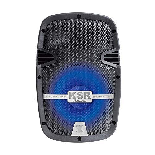 Kaiser Bafle KSR Premium de 8 Pulgadas con Bluetooth, Micrófono, Control Remoto y Adaptador de Corriente…