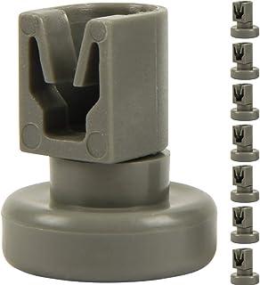 comprar comparacion McFilter - Ruedas para cesta superior de lavavajillas (8 unidades, adecuadas para AEG Favorit, Privileg, Zanussi, etc.)