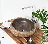Aufsatzwaschbecken Granit 40 cm