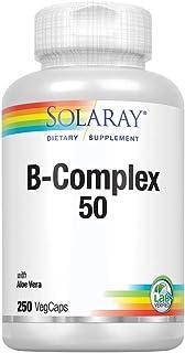 SOLARAY B-Complex 50 250 Capsules