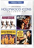 Universal Hollywood Icons Collection: Gregory Peck (Arabesque / Mirage / Captain Newman, M.D. / The World in His Arms)