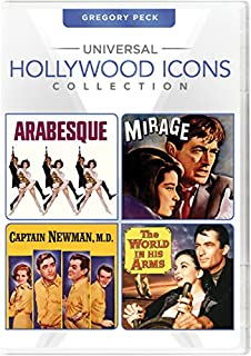 Universal Hollywood Icons Collection: Gregory Peck (Arabesque/Mirage/Captain Newman, M.D./The World in His Arms)