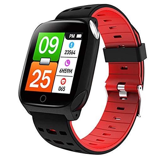 Rastreador de fitness Fitness Tracker pantalla colorida inteligente pulsera deportiva reloj inteligente podómetro rastreador de actividad Bluetooth para Android e iOS Sport Fitness Tracker-C