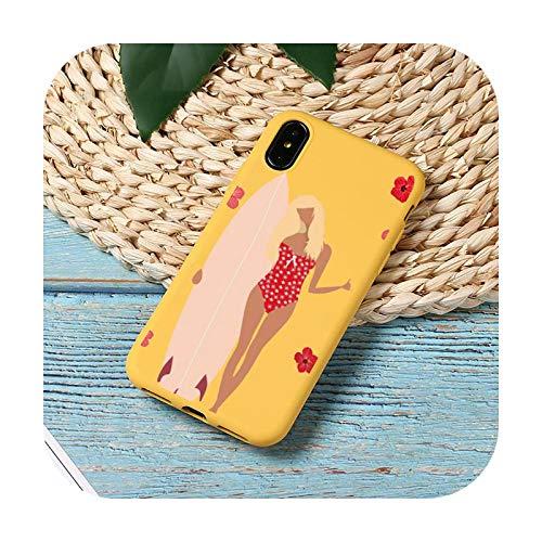 Funda para teléfono móvil con diseño de olas de mar caliente para iPhone 11 12 Mini Pro XS MAX 8 7 6 6S Plus X SE 2020 XR-a9-iPhone12PROMAX