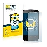 BROTECT Schutzfolie kompatibel mit LG Electronics Google Nexus 4 (2 Stück) klare Bildschirmschutz-Folie