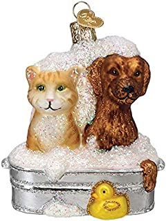 Old-World Christmas Glass Blown Ornament with S-Hook and Gift Box, Toy and Hobby Collection 12541
