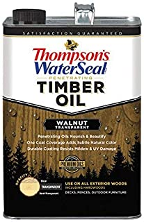 Thompsons Timber Oil - Walnut Transparent - 1 Gallon