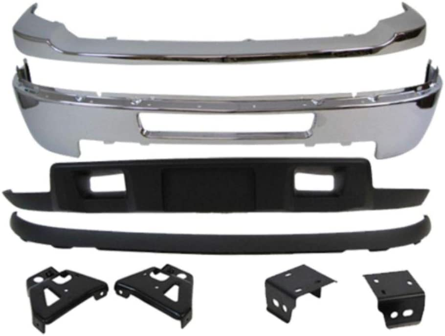 For Front Bumper Rare Selling and selling Bar Pad Air W O 8Pc Fog Brackets Deflector