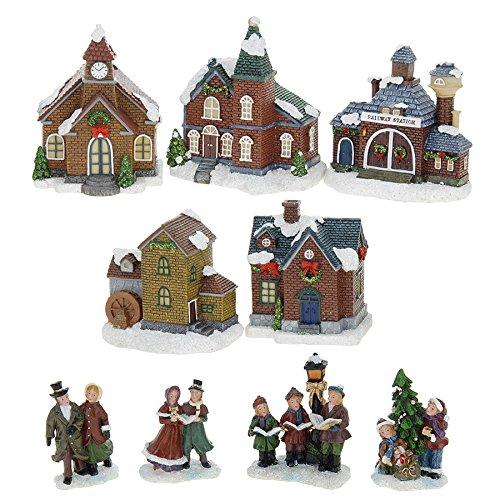 zeitzone Weihnachtsstadt Bild