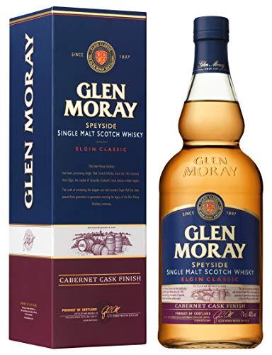 Glen Moray Single Malt Cabernet finish Whisky (1 x 0.7 l)
